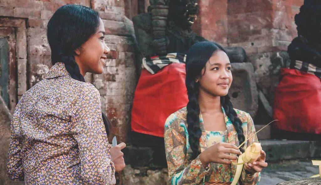 インドネシアの女性たち