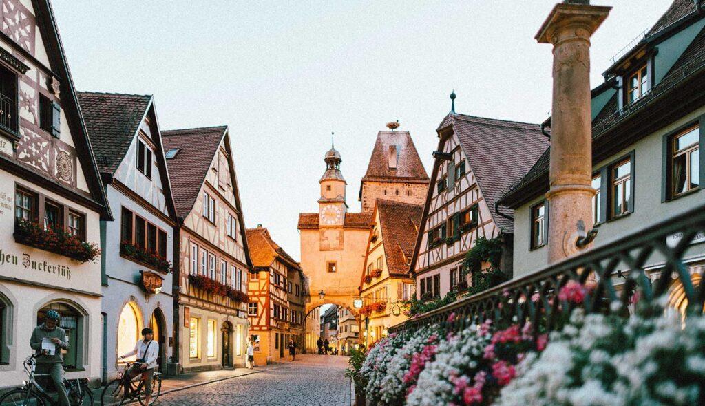 ドイツの美しい街並み